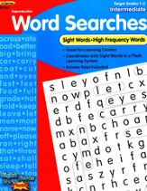 Sight Word Searches, Intermediate, Grades 1-2