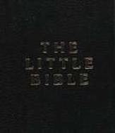 The Little Bible, Black Leatherette, Pack of 10