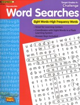 Sight Word Searches, Challenging, Grades 4+