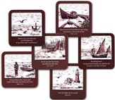 Lighthouse Coasters, Set of 6