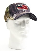 Duck Dynasty, Duck Commander Flag Cap, Camo and Navy