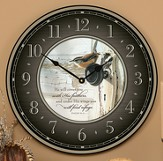 Under His Wings, Wall Clock