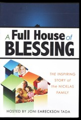 A Full House of Blessing: The Inspiring Story of the Nicklas Family DVD