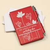 He Loves Us With Unfailing Love Memo Holder