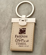 Friends Love at All Times Keychain