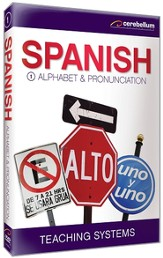 Spanish Module 1: Alphabet / Pronunciation DVD