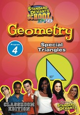 Standard Deviants School Geometry Module 4: Special Triangles DVD
