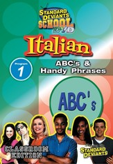 Italian Module 1: ABC's and Handy Phrases DVD