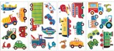 Transportation Vinyl Wall Stickers