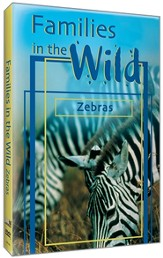 Just The Facts: Families in the Wild - Zebras DVD