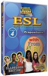 Standard Deviants School ESL Program 4: Prepositions DVD