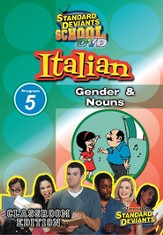 Italian Module 5: Gender and Nouns DVD