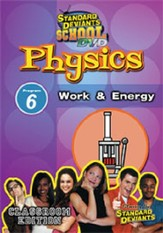 Physics Module 6: Work and Energy DVD
