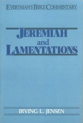 Jeremiah & Lamentations- Everyman's Bible Commentary - eBook