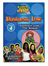 Business Law Module 4: Contract Law - The Sequel DVD