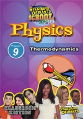 Standard Deviants School Physics Module 9:  Thermodynamics DVD