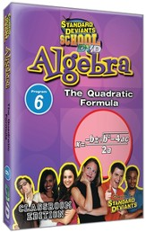 Algebra Module 6: The Quadratic Formula DVD
