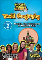 Standard Deviants School World Geography Module 2:  Russia, The Caucasus and Central Asia DVD