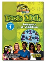 Standard Deviants School Basic Math Module 1:  Integers and Addition DVD