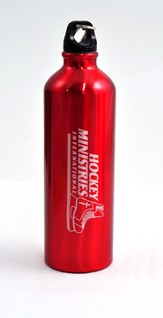 Hockey Ministries International Water Bottle, Red
