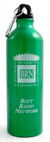Bott Network Metal Water Bottle, Green