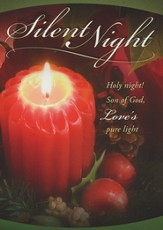 Silent Night, Box of 12 Christmas Cards
