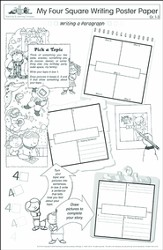My Four Square Writing, Grades 1-3 (Pack of 30)