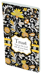 Paisley Pocket Notebook, Trust