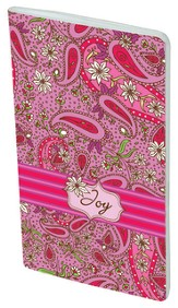 Paisley Pocket Notebook, Joy