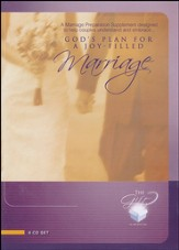 God's Plan for a Joy-Filled Marriage 6 CD Set - Slightly Imperfect