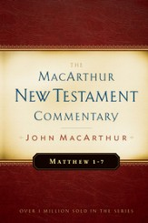 Matthew 1-7: The MacArthur New Testament Commentary - eBook