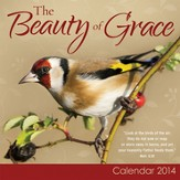 2014 Mini Wall Calendar, The Beauty of Grace