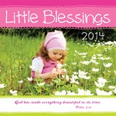 2014 Mini Wall Calendar, Little Blessings