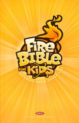 NKJV Fire Bible for Kids: Becoming God's Power Kids