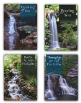 Waterfalls Encouragement Cards, Box of 12