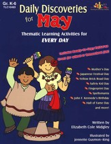 Daily Discoveries for May, Grades K-6