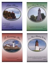 Lighthouses Encouragement Cards, Box of 12
