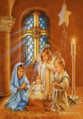 Kids' Nativity: Greeting Card Advent Calendar