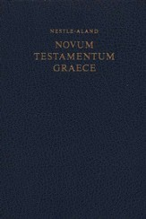 Novum Testamentum Graece, Nestle-Aland 27th Edition Greek New Testament