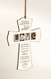 For God So Loved Mini Cross