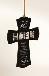 Hope, I Know the Plans Mini Cross