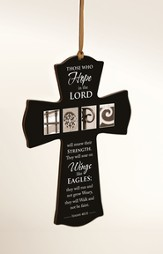 Those Who Hope In the Lord Mini Cross