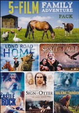5-Film Family Adventure Pack: Long Road Home/