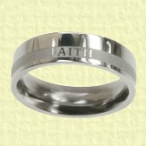 Faith Women's Ring, Size 8
