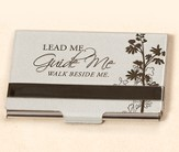 Business Card Holder, Lead Me, Guide Me