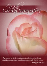 Roses Sympathy Cards, Box of 12