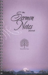 KeyNotes: My Sermon Notes Journal