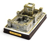 The Jerusalem Temple Statue: Silver Plated