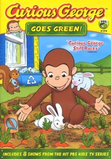 Curious George Goes Green DVD
