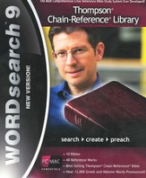 WORDsearch 9 PC/Mac Thompson Chain-Reference Library on DVD-ROM